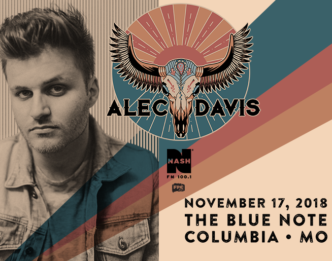 NASH FM 100.1 Presents Alec Davis