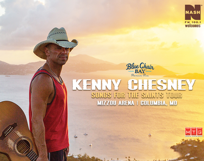 NASH FM Welcomes Kenny Chesney to Mizzou Arena