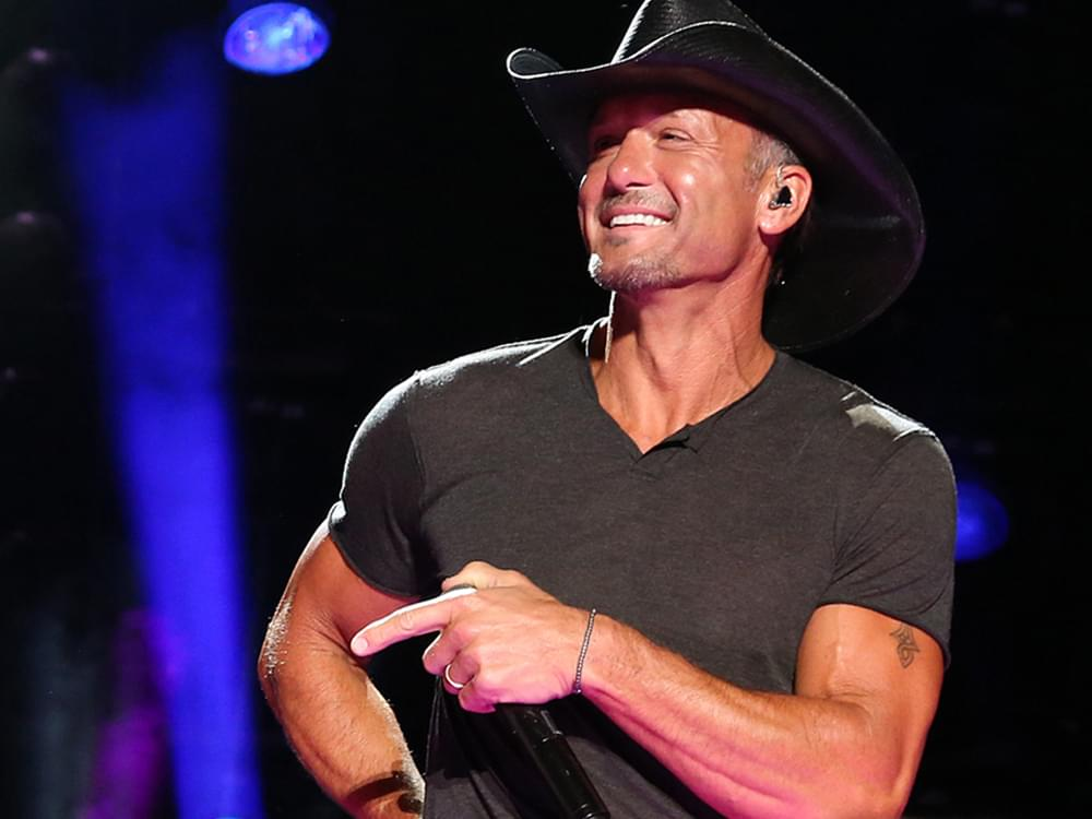 Tim McGraw to Perform Free Concert at the NFL Draft in Nashville