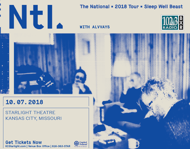 102.3 BXR Welcomes The National