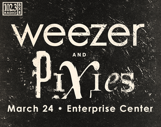 102.3 BXR Welcomes Weezer and Pixies