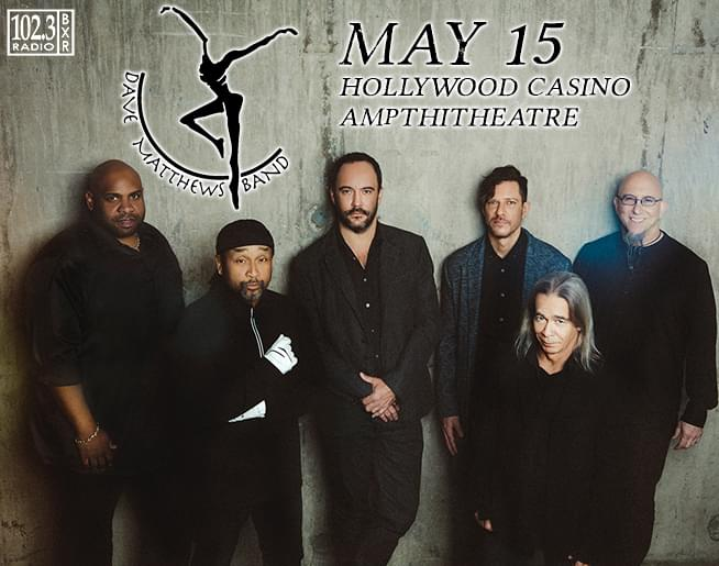 102.3 BXR Welcomes the Dave Matthews Band