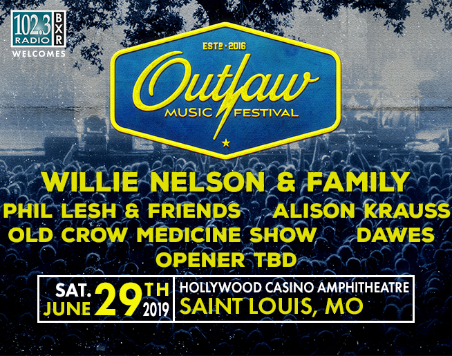 102.3 BXR Welcomes the Outlaw Music Festival