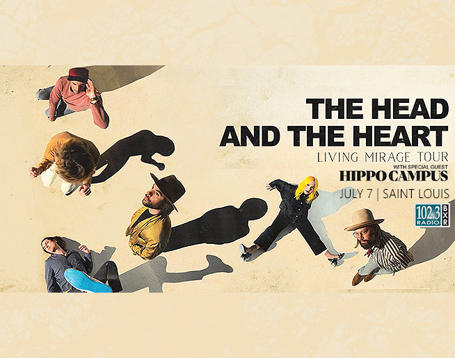 BXR Welcomes The Head and the Heart