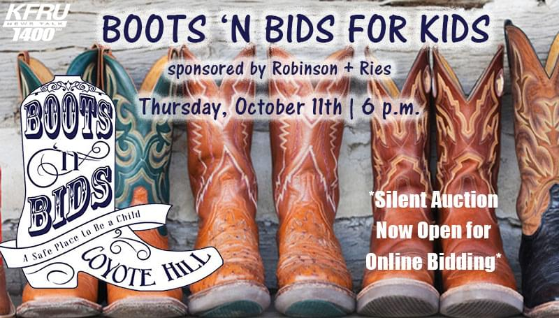 Boots N Bids for Kids