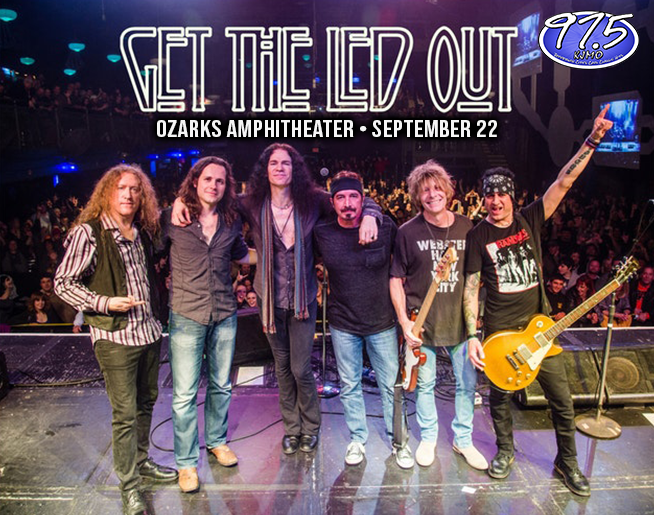 KJMO Welcomes Get the Led Out to Ozarks Amphitheater
