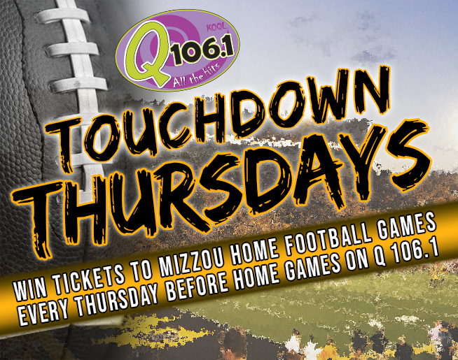 Touchdown Thursdays on Q 106.1