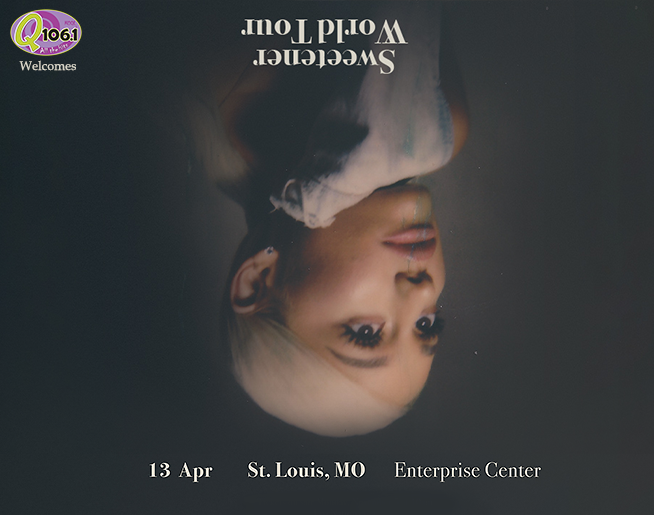 Q 106.1 Welcomes Ariana Grande to Saint Louis