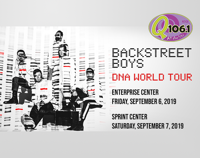 Q 106.1 Welcomes the BACKSTREET BOYS
