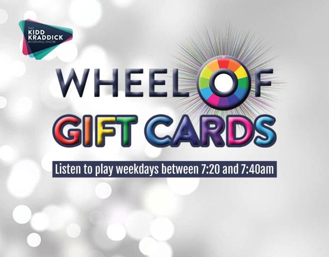 Wheel of Giftcards!!
