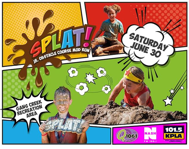 Splat! Jr. Mud Run