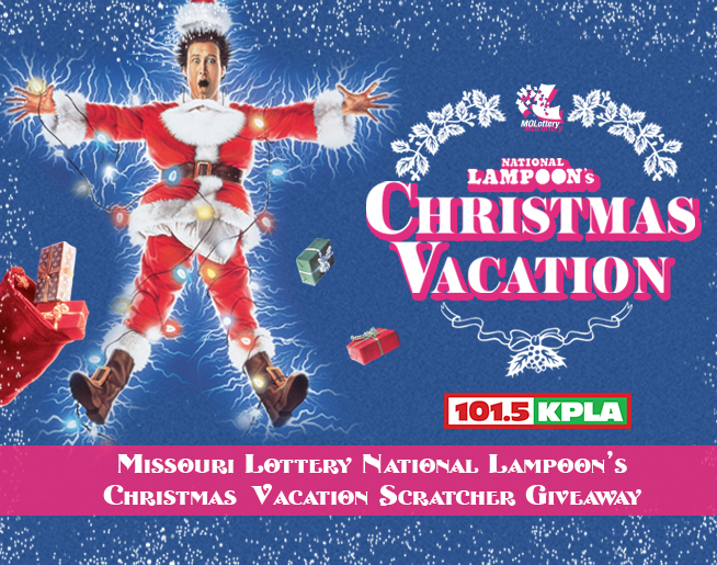 MO Lottery Christmas Vacation Scratcher Giveaway!