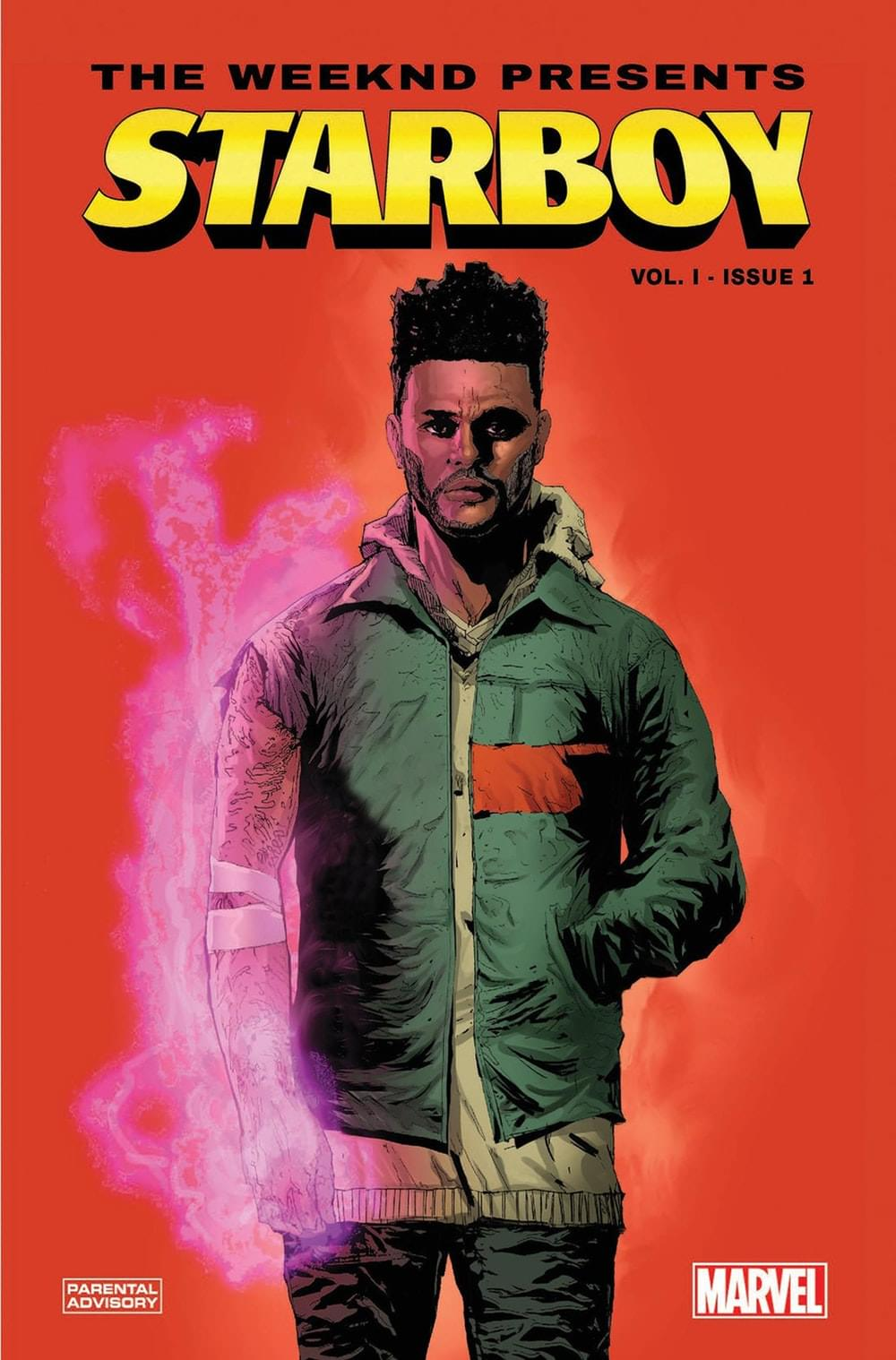 "Check out the trailer for The WEEKND's ""Starboy"" Marvel Comic Series"
