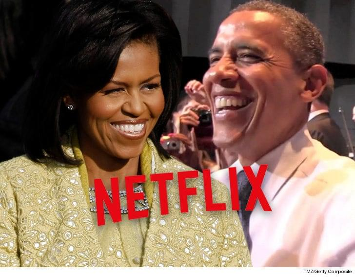 Barack and Michelle Obama ink a new deal with NETFLIX