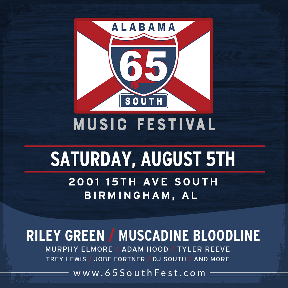 Alabama 65 South Music Festival-August 5th