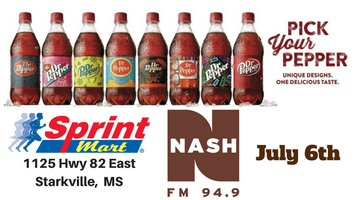Pick Your Pepper-Sprint Mart July 6th