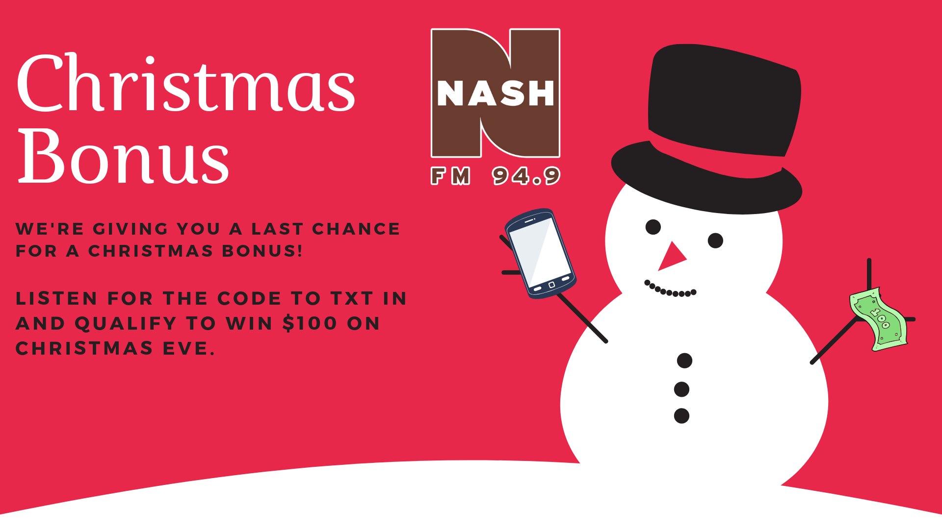 Christmas Bonus- TXT to WIN