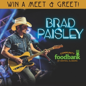 Brad Paisley Oak Mountain Amp July 19th