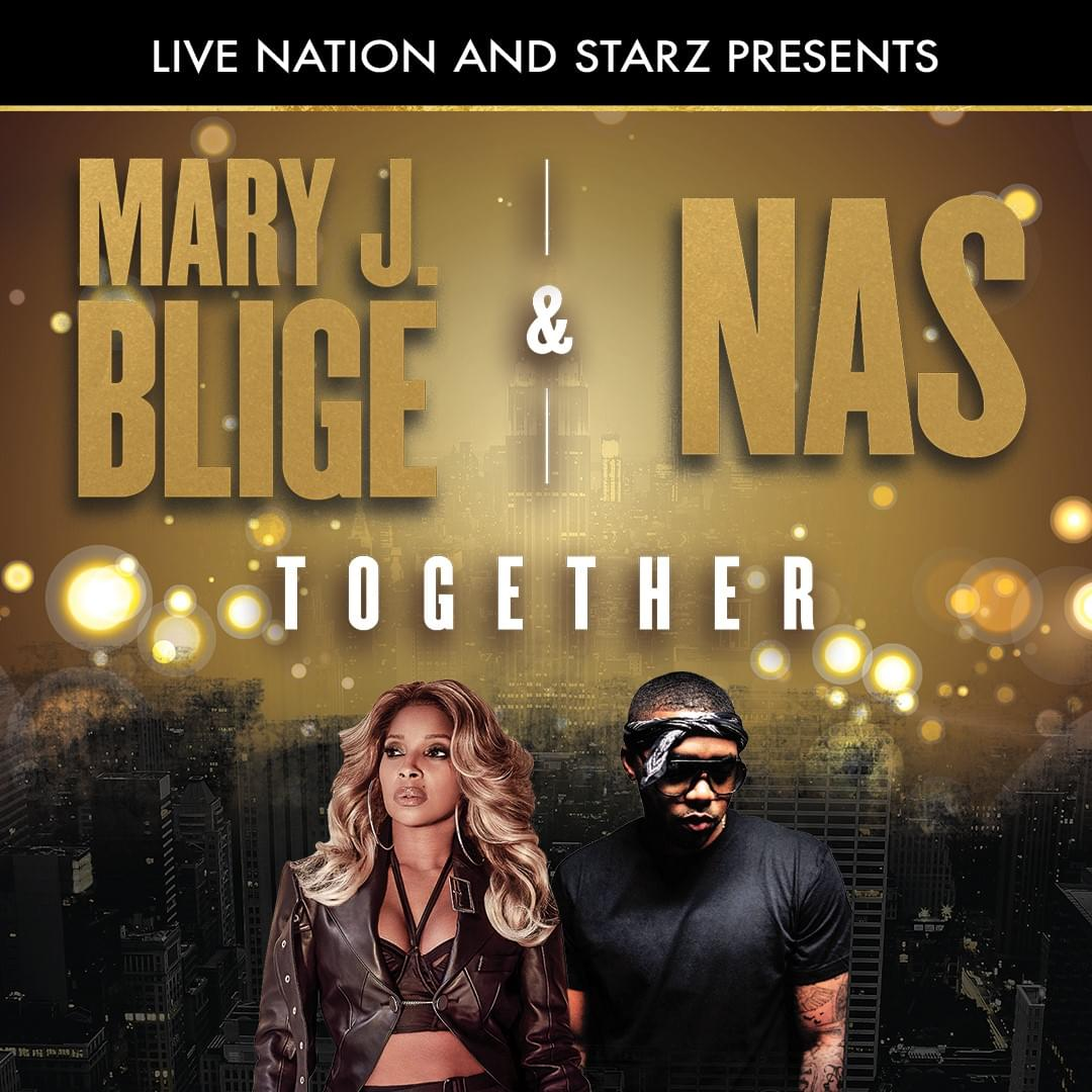 Mary J Blige + NAS Tuscaloosa Amphitheater August 25th
