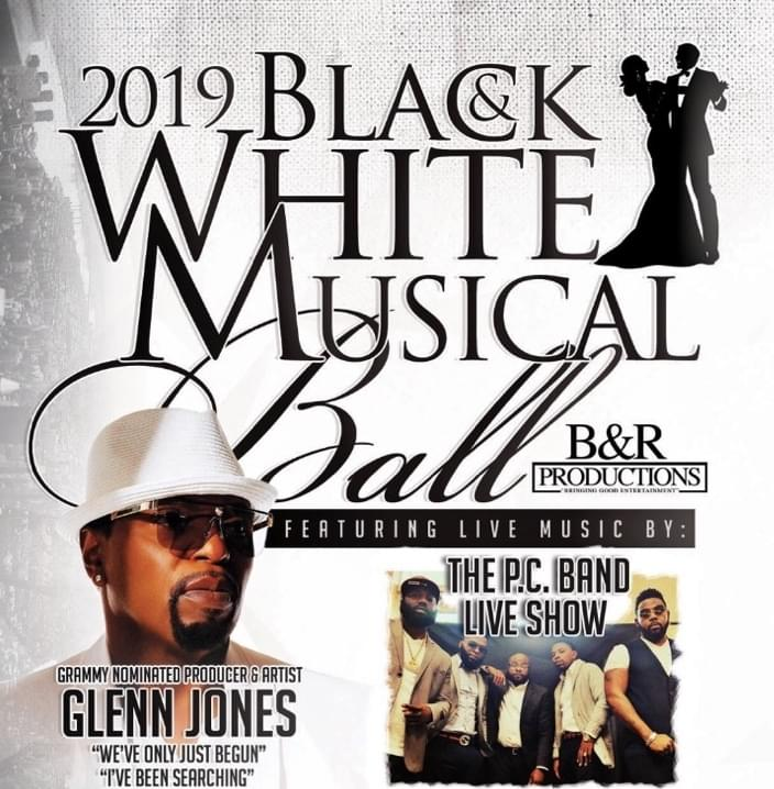 Black & White Musical Ball Friday Night Trotter Convention Center
