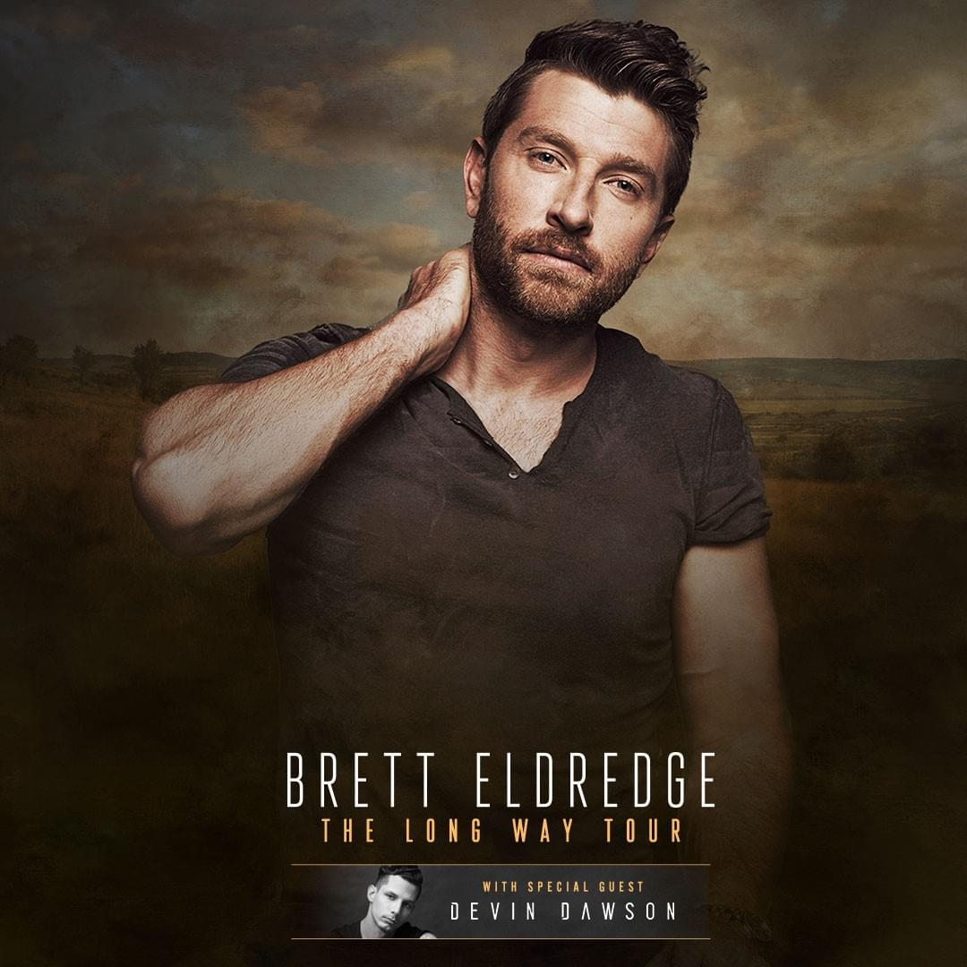 Brett Eldredge Landers Center October 4th
