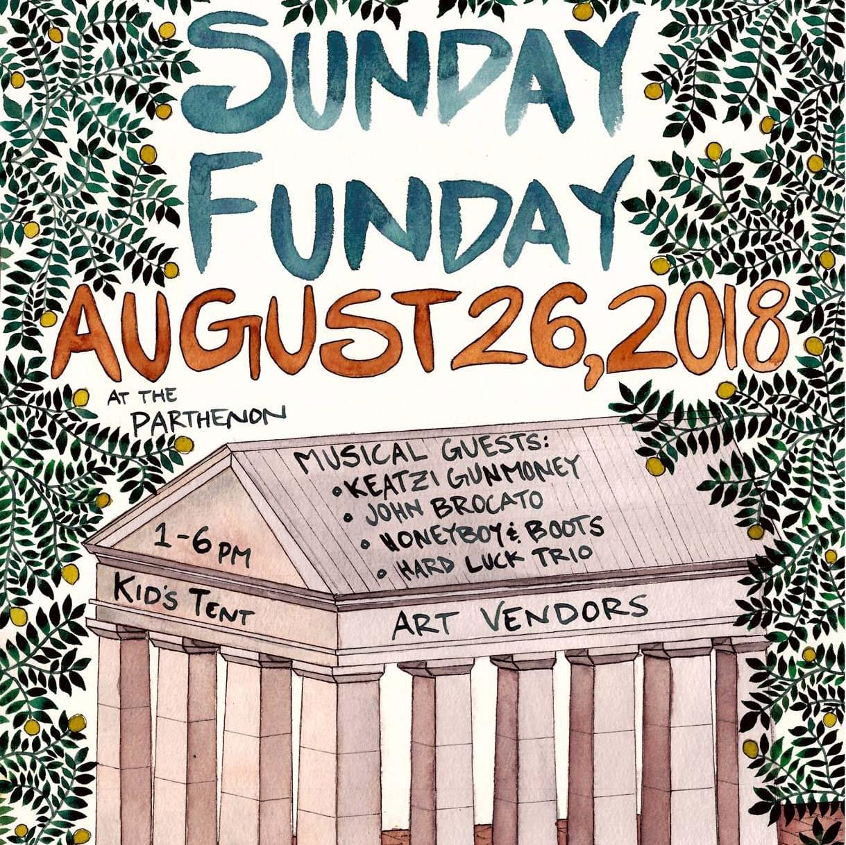 Starkville Sunday Funday-August 26th
