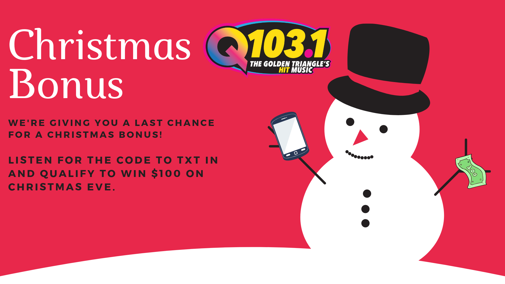 Christmas Bonus-TXT to Win