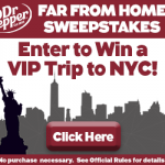 "Dr. Pepper ""Far From Home Sweepstakes"""