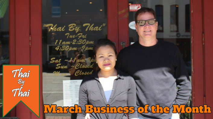 March Business of the Month- Thai by Thai