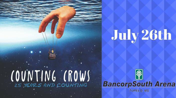 Counting Crows at Bancorpsouth Arena-July 26th