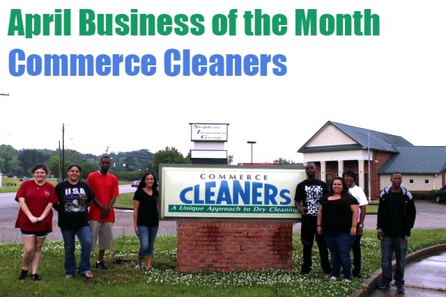 April Business of the Month-Commerce Cleaners of Columbus