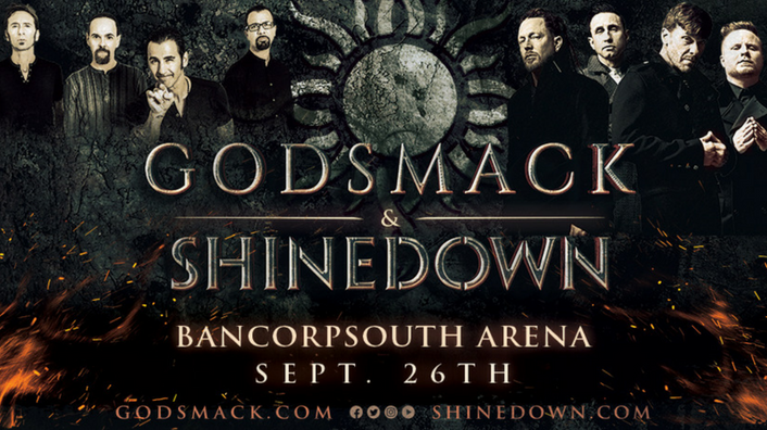 Godsmack & Shinedown-Bancorpsouth Arena September 26th