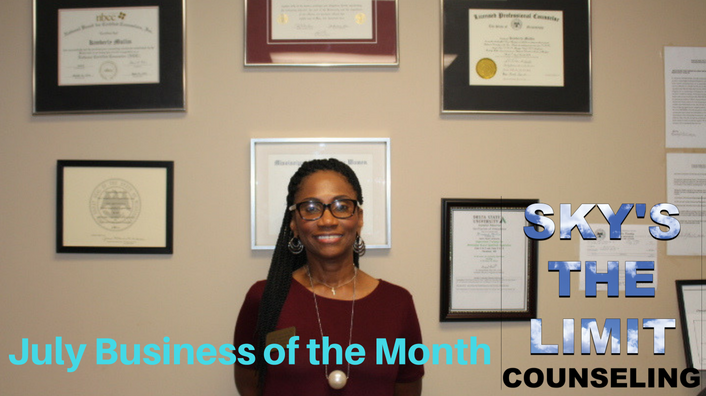 July Business of the Month-Sky's the Limit Counseling of Columbus
