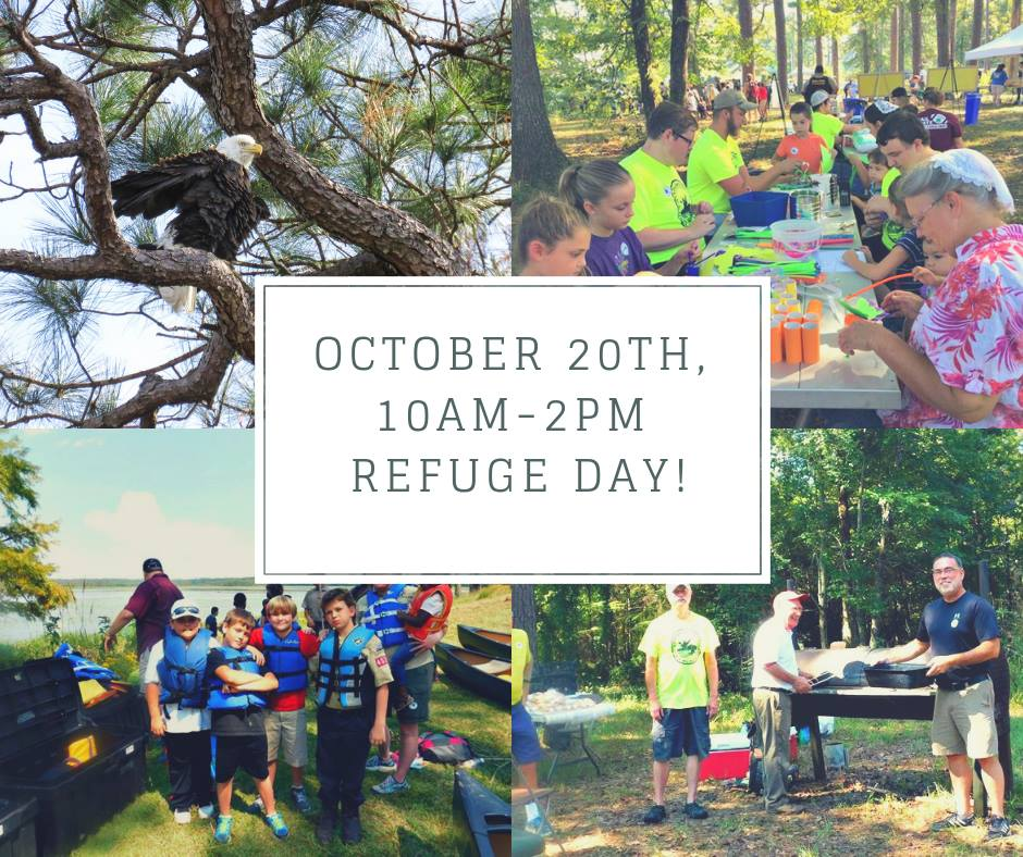 Noxubee Refuge Day-Saturday October 20th