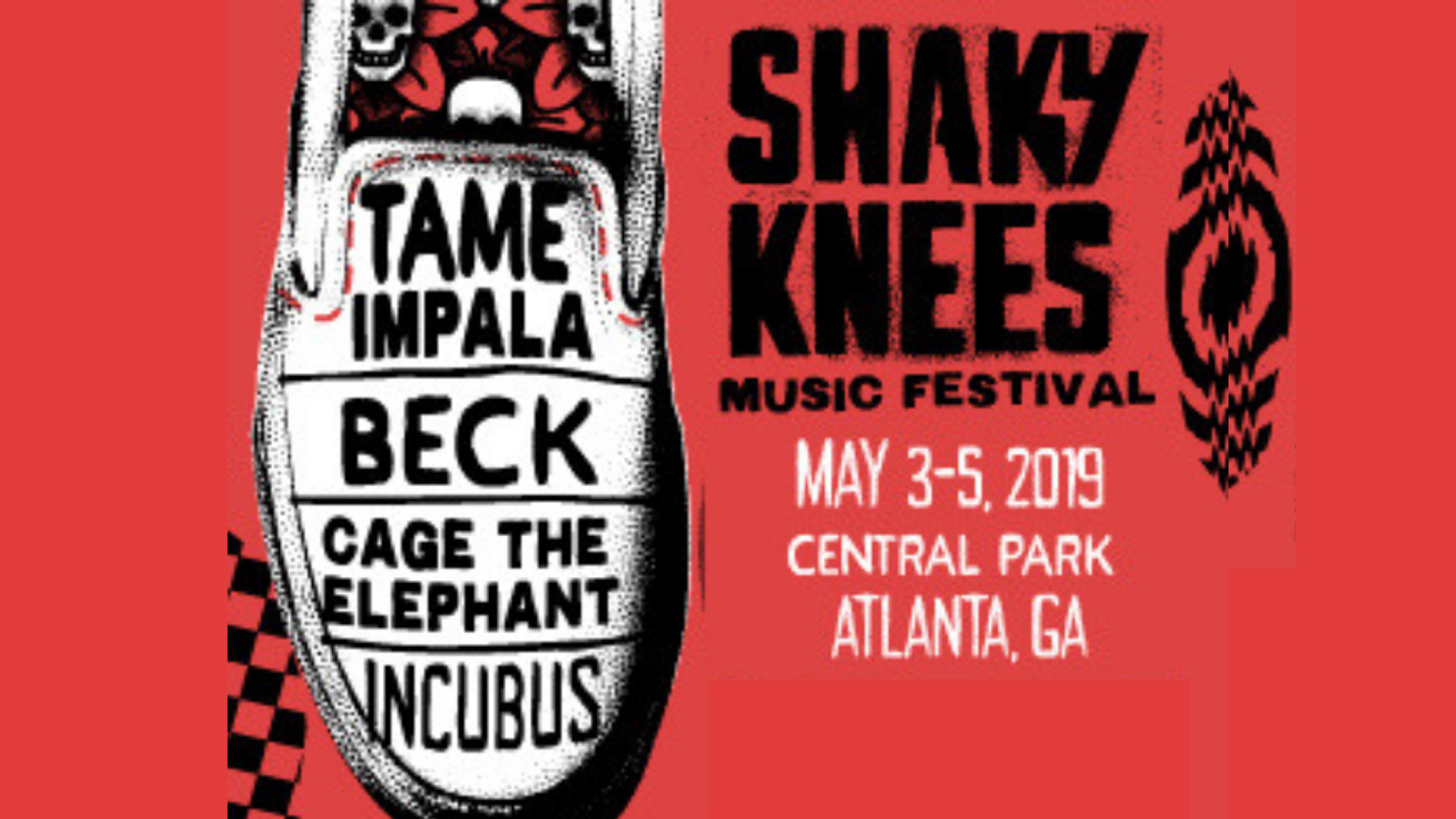 Shaky Knees Freeloading! Two ways to win!