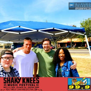 Shaky Knees Freeloading Winners!