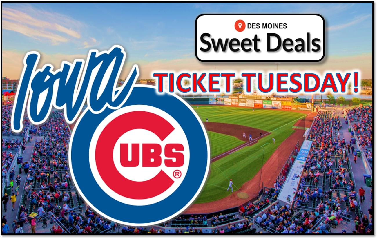 Sweet Deal – Winning Wednesday with the Iowa Cubs