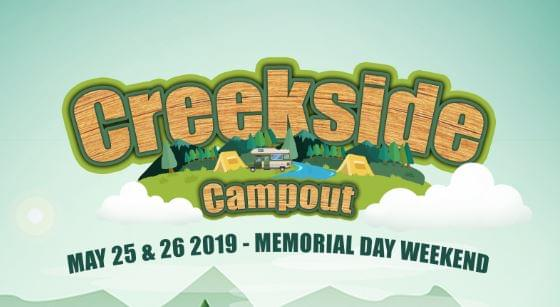 Sweet Deal – Creekside Campout Tickets!