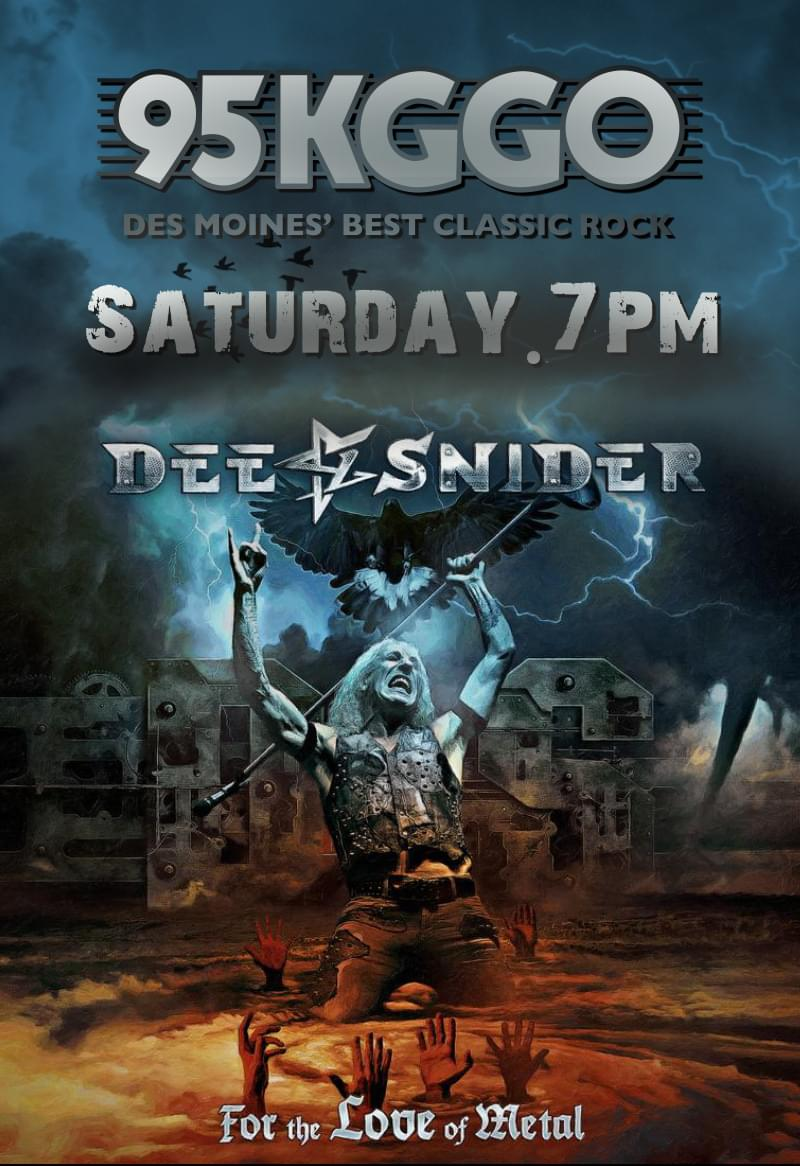Dee Snider Joins KGGO This Saturday Night For Exclusive Special [VIDEOS]