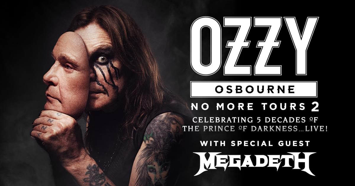 Ozzy Osbourne Makes His Return to Des Moines in 2019