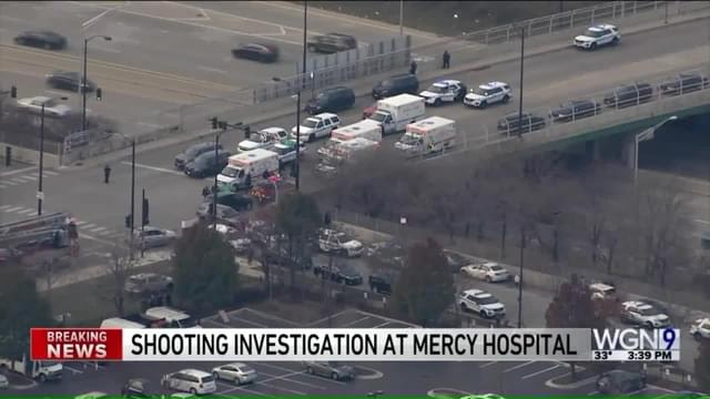 BREAKING: Active Shooter Near Mercy Hospital in Chicago