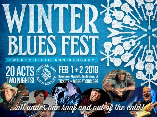 Winter Blues Fest Coming to Des Moines