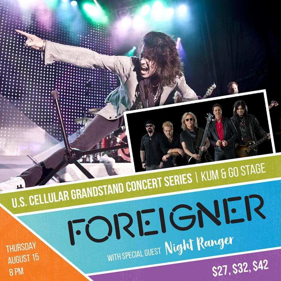 Iowa State Fair – Foreigner