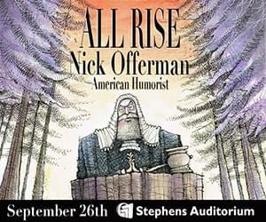 Nick Offerman square banner