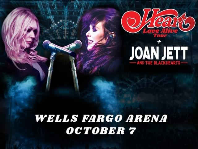 Heart and Joan Jett at Wells Fargo Arena