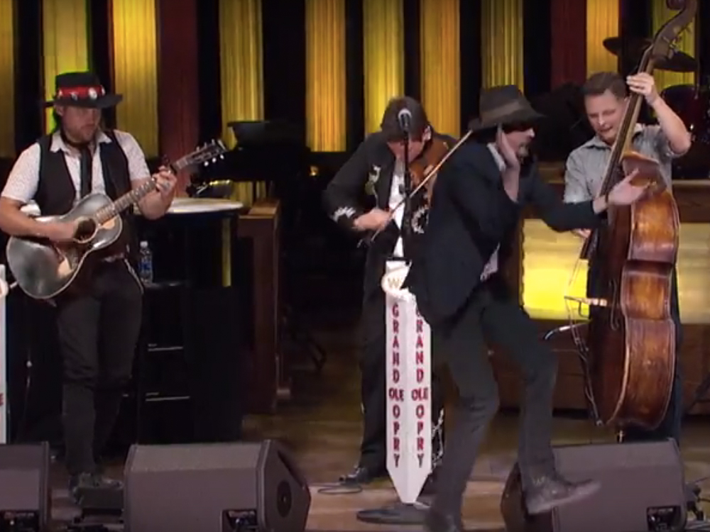 "Exclusive Premiere: Watch Old Crow Medicine Show's Dance-Inducing Performance of ""My Bones Gonna Rise Again"" on the Grand Ole Opry"