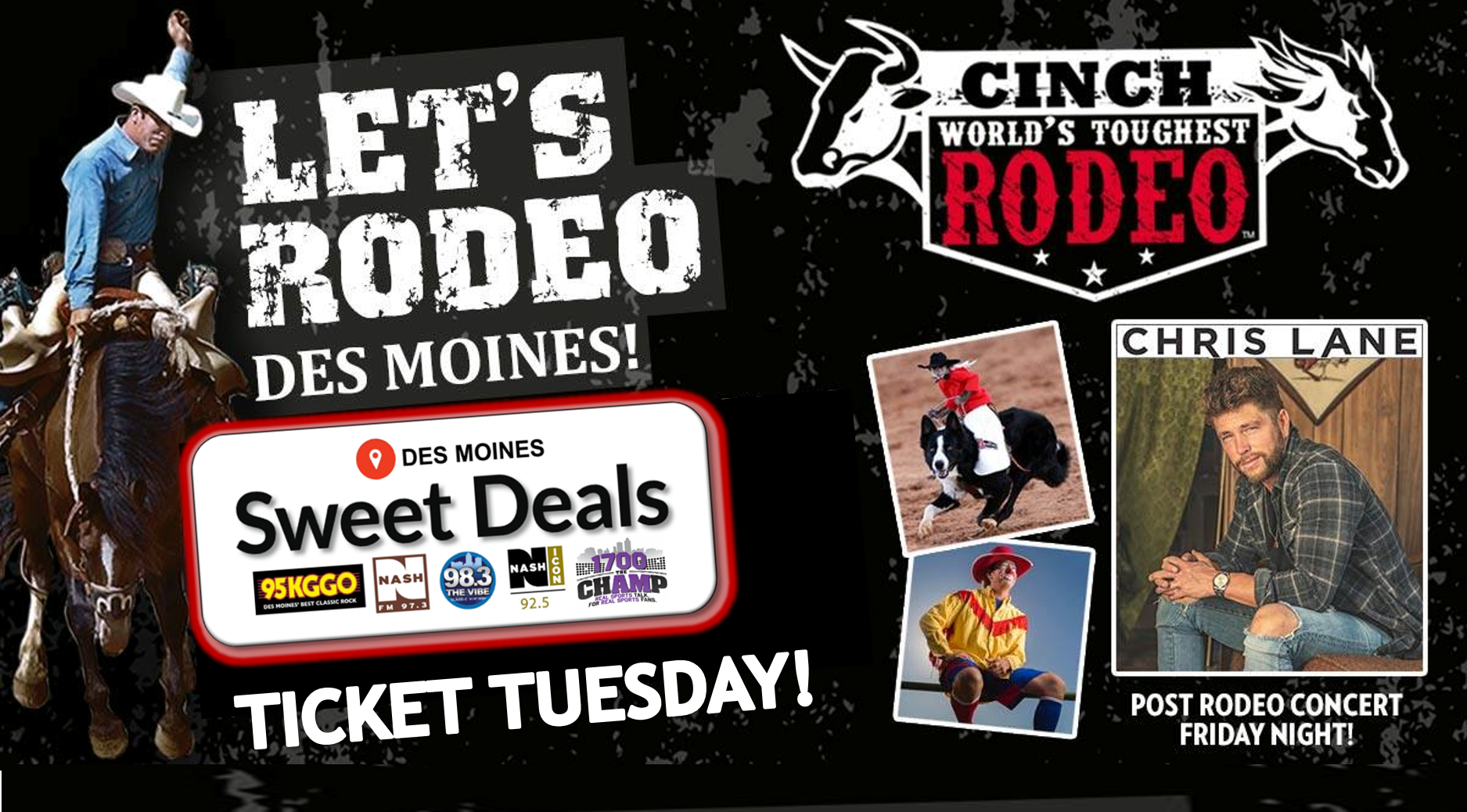Sweet Deal – Ticket Tuesday – Cinch World's Toughest Rodeo