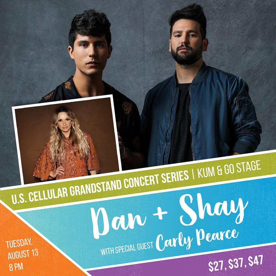 Iowa State Fair – Dan + Shay