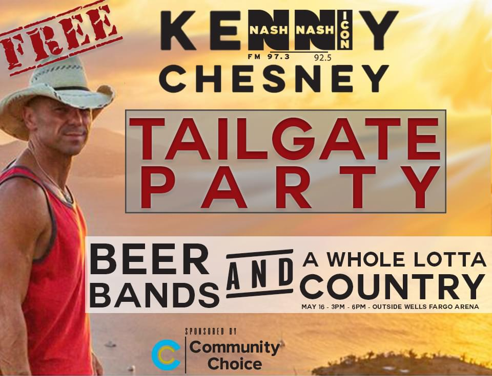 Official Kenny Chesney Tailgate Party
