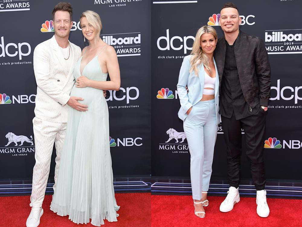 Photo Gallery: Billboard Music Awards Red Carpet Featuring Kane Brown, FGL, Dan + Shay, Kelly Clarkson, Taylor Swift & More